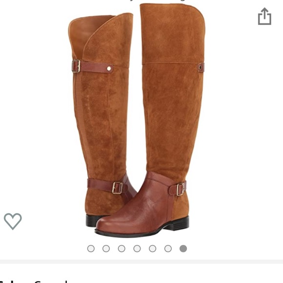 COPY - Naturalizer January Wide Calf Boots 8.5 2W